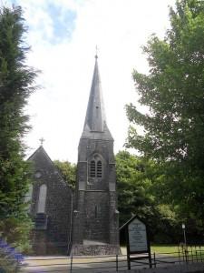 静かなる男・村の教会