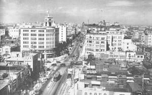 1930年代の銀座眺望